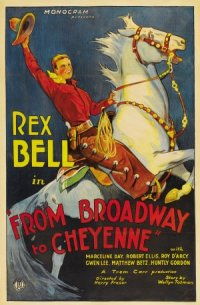 Broadway to Cheyenne poster