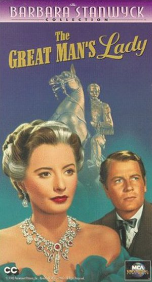 The Great Man's Lady Vhs cover