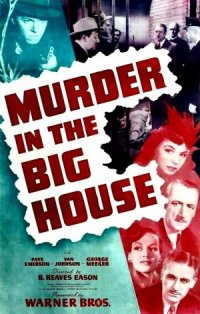 Murder in the Big House poster
