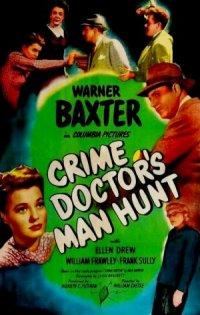 Crime Doctor's Man Hunt poster