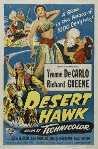 The Desert Hawk poster