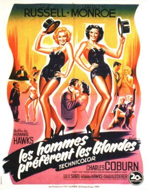 Gentlemen Prefer Blondes 768x987