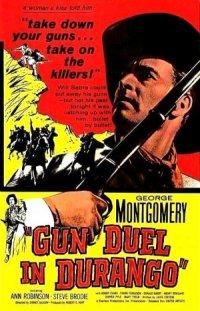 Gun Duel in Durango poster