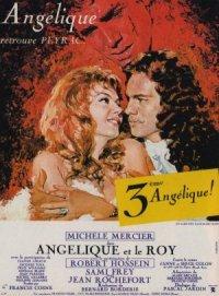 Angelica alla corte del re poster