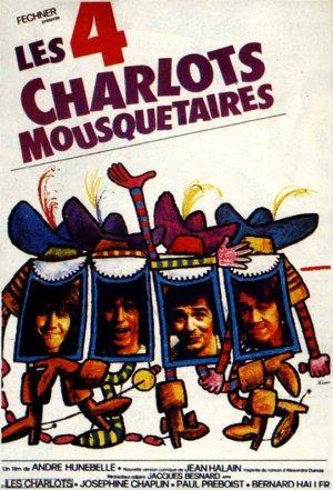 Les quatre Charlots mousquetaires 541x795