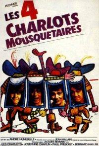 Les quatre Charlots mousquetaires poster