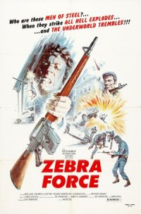 The Zebra Force poster