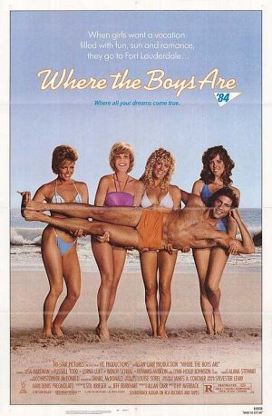 Where the Boys Are '84 Poster