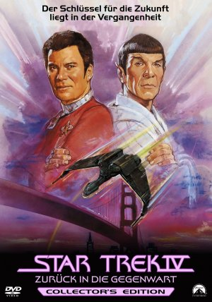 Star Trek: The Voyage Home Dvd cover