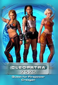 Cleopatra 2525 poster