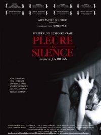 Pleure en silence poster