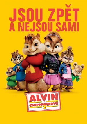 Alvin and the Chipmunks: The Squeakquel 3533x5000