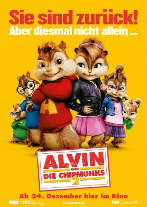 Alvin and the Chipmunks: The Squeakquel 990x1400