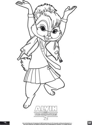 Alvin and the Chipmunks: The Squeakquel 421x567