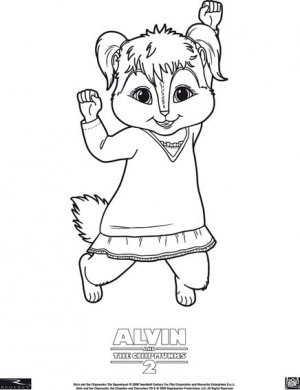 Alvin and the Chipmunks: The Squeakquel 436x567