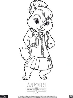 Alvin and the Chipmunks: The Squeakquel 422x567
