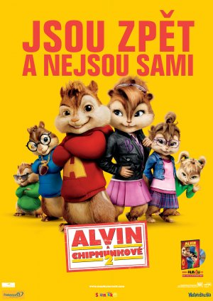Alvin and the Chipmunks: The Squeakquel 3532x5000