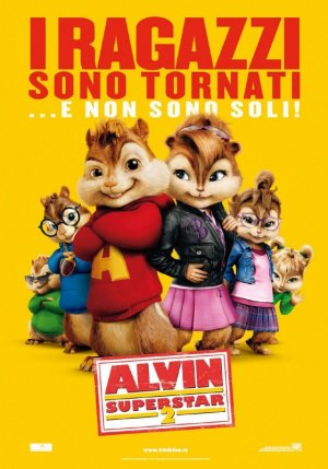 Alvin and the Chipmunks: The Squeakquel 560x800
