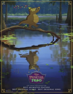 The Princess and the Frog 412x530