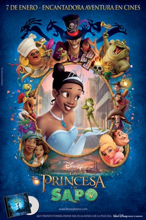The Princess and the Frog 500x750