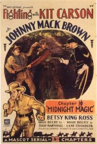 Fighting with Kit Carson poster
