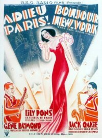 That Girl from Paris poster