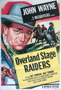 Overland Stage Raiders poster