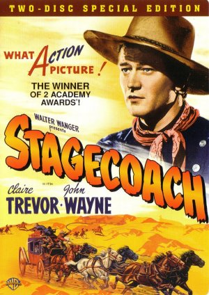 Stagecoach Dvd cover