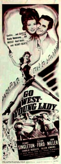 Go West, Young Lady poster