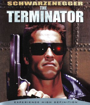 The Terminator Blu-ray cover