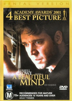 A Beautiful Mind Dvd cover