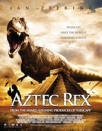 Tyrannosaurus Azteca poster