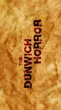 The Dunwich Horror poster