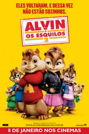 Alvin and the Chipmunks: The Squeakquel 591x886