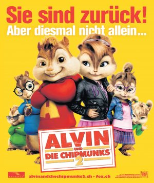 Alvin and the Chipmunks: The Squeakquel 2147x2556