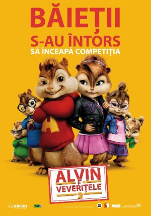 Alvin and the Chipmunks: The Squeakquel 697x999