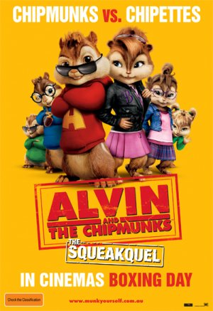 Alvin and the Chipmunks: The Squeakquel 400x583
