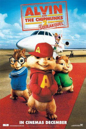 Alvin and the Chipmunks: The Squeakquel 537x800