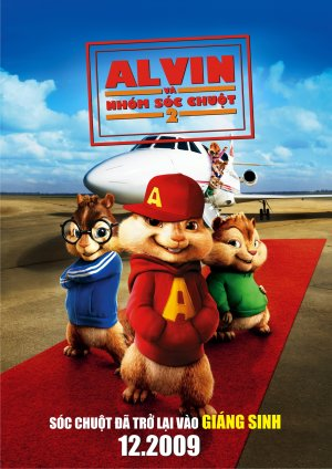 Alvin and the Chipmunks: The Squeakquel 1414x2000