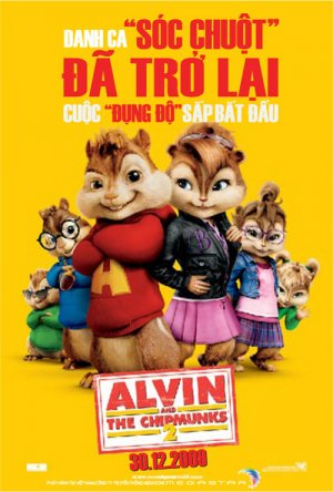 Alvin and the Chipmunks: The Squeakquel 500x740