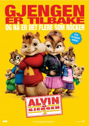 Alvin and the Chipmunks: The Squeakquel 3535x5000