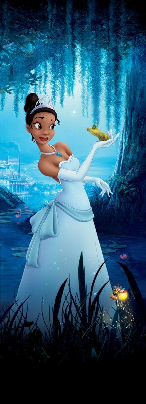 The Princess and the Frog 1811x5000