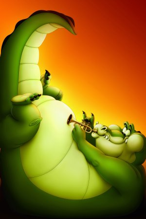 The Princess and the Frog 3334x5000