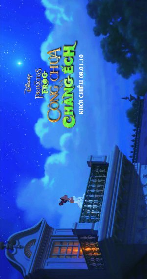 The Princess and the Frog 1582x3000