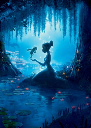 The Princess and the Frog 3571x5000