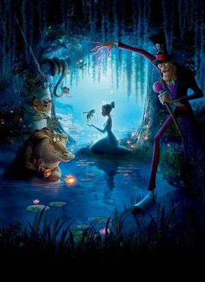 The Princess and the Frog 3646x5000