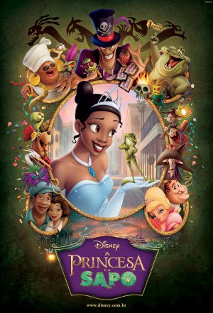 The Princess and the Frog 1608x2362