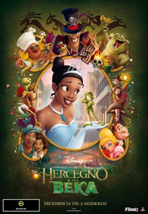 The Princess and the Frog 350x504