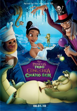 The Princess and the Frog 1045x1500