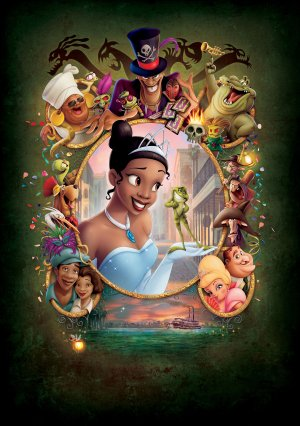 The Princess and the Frog 3523x5000
